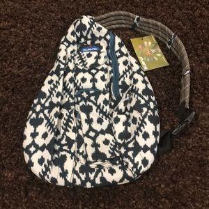Navy Rope Sling bag